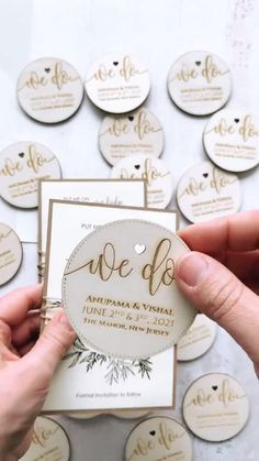Innovate the traditional card with these Wooden Wedding Save the Date Magnets engraved with your details. Remembering the date of your special day on the fridge of your guests will be original and pleasant.They will love to see these natural, eco-friendly, rustic, and personalized pieces of wood on their fridge. #rusticweddingsavethedates #magnetweddingsavethedates Rustic Wedding Stationery, Laser Cut Wedding Invitations, Destination Wedding Invitations, Laser Cut Save The Dates, Rustic Wedding Save The Dates, Laser Cut Invitation, Cream Wedding, Save The Date Magnets, Wedding Table
