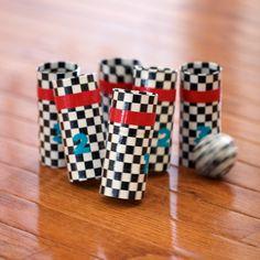 Duck Tape Bowling Game | AllFreeKidsCrafts.com