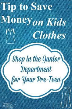 Save Money on Kids Clothes with This Tip - Frugal Minded Mom