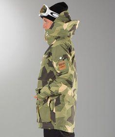 WearColour Falk Unisex Snowboard Jacket