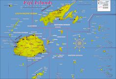 Location Of Fiji Islands Fiji Islands Map Fiji Map Our World