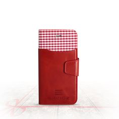 Genuine Leather Wallet Case for Apple iPhone 6s & 6 | Precision Engineered for Custom Fit | Inner Slots for Credit Cards & Outer Compartment for Cash & More | [Red] by Exinoz. Perfect Fit Keeps Your iPhone Secure: Your Exinoz Case is precision-made to custom fit your Apple iPhone 6s or 6. No worries, no hassles - just a snug, safe fit!. Genuine Leather Ensures Premium Quality: Unlike cheaply made cases, this one comes in real leather - buttery-soft & crafted by hand for rich, distinctive...