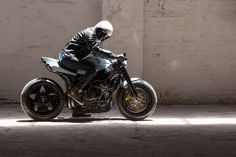 Gnarly: This Honda CBR street fighter from Australia has a 240-section rear tire.