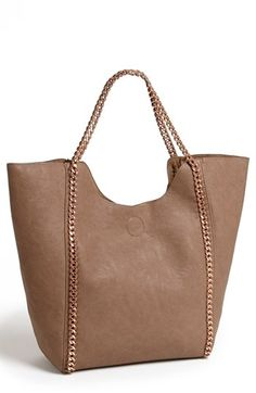 Street Level Faux Leather Tote available at #Nordstrom