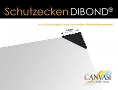 Schutzecken Dibond© - Plexiglas© - 100 Stück Chart, Packaging, Photo Illustration