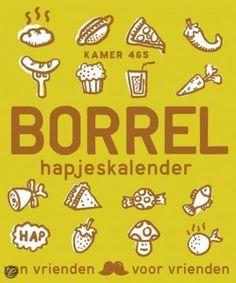 Borrelhapjes Kalender van Uitgeverij Snor Stippels Webshop