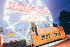 Hamburger Dom Leuchtreklame
