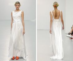 Vestido de novia de Elena Rubio · Costura España · Tendencias de Bodas Magazine