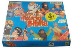 Coleção Cedicriança e as Histórias da Bíblia - 5 Cds 100% Interativos - ISBN 8575300113