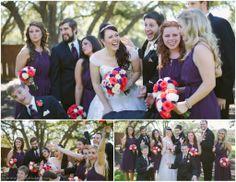 Goofy bridal party poses - Gabriel Springs Wedding - The Bird & The Bear Photography www.thebirdthebear.com