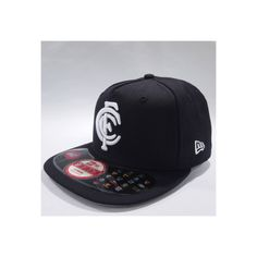 Genuine New Era Cap With Stickers - AFL Snapback Cap - Primary Design -  Medium Raised Embroidery Letter (logo) on Front Middle - Back Design -  Raised ... 87f919cbd