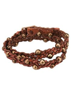 RICCARDO FORCONI Braided Bead Bracelet