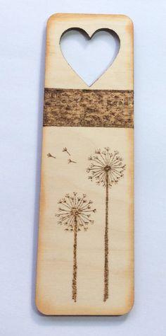 Pyrograph bookmark