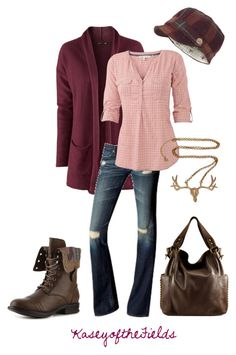 """""""Hunting Season"""" by kaseyofthefields ❤ liked on Polyvore"""