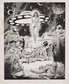 sciencefictiongallery: Wally Wood - Messiah