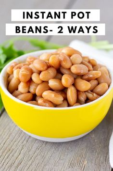 Peruvian beans are soft, buttery and turn out perfect in the Instant Pot. Serve them whole or re-fried directly from the Instant pot. #peruvianbeans #instantpotbeans ThaiCaliente.com Mayocoba Beans, Fried Beans, Beans Recipes, Crockpot Recipes, Cooking Recipes, How To Make Beans, Food To Make, Mexican Food Recipes, Vegetarian Recipes