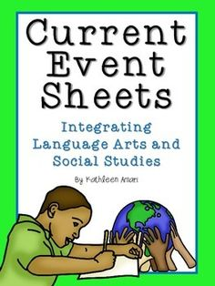 These current event sheets align with many of the Informational Text CCSS. They are a great way to incorporate language arts standards in social studies, as well as social studies related articles into language arts!*DOWNLOAD THE PREVIEW FOR A CLOSER LOOK!Includes the following current event sheets and accompanying definition posters:*Summarizing Nonfiction-4 options (1 generic, 1 specific to a government article, 1 specific  to an economics article, and 1 specific to an environment-related ...