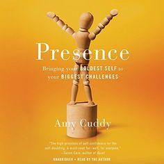 "Another must-listen from my #AudibleApp: ""Presence"" by Amy Cuddy, narrated by Amy Cuddy."