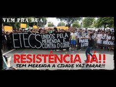 Protesto de estudantes contra Alckmin: A merenda ele pegou, a escola ele fechou, o Geraldo é só caô - Viomundo - O que você não vê na mídia