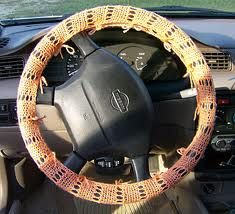 How to Make a Steering Wheel Cover with Yarn