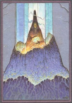 Moebius - A print that came with some editions of Arzak L'arpenteur