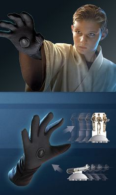 Ever want to be a Jedi? This glove lets you use the Force.