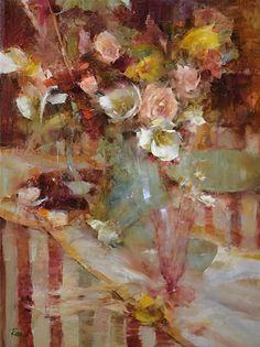 Learn oil painting techniques with Laura Robb. Laura's flower painting methods are one of the best in the world. Art Floral, Oil Painting Techniques, Painting Classes, Still Life Flowers, Still Life Oil Painting, Still Life Art, Beautiful Paintings, Cool Artwork, Painting & Drawing