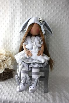 Bunny outfit with slippers - love it!