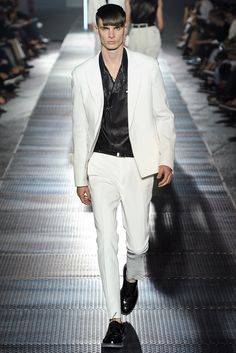 Lucas Ossendrijver and Alber Elbaz for Lanvin Spring 2013 menswear