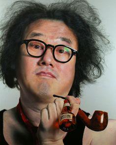 The stunning hyper-realistic portraits Hoon Kang Kang .
