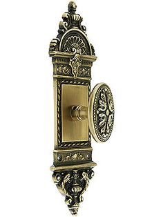 Exceptional Reproduction Victorian French Renaissance Style Door Set