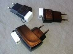 Old phone charger into USB