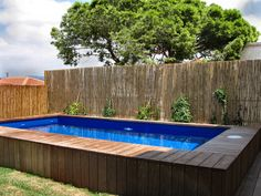 Amazing Swimming Pools, Small Swimming Pools, Above Ground Swimming Pools, Swimming Holes, In Ground Pools, Pools For Small Yards, Small Backyard Pools, Pool Decks, Small Above Ground Pool