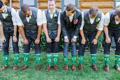 Colorful Oregon Wedding by Gabriela Ines Photography - Oregon Duck love <3
