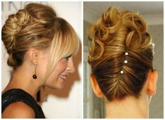 french twist wedding -for jenn's...like the image on right