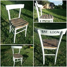 Restored Old Chair