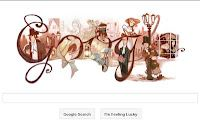 Free Dickens' classic today and a pretty Google doodle to celebrate Charles Dickens' 200th birthday!