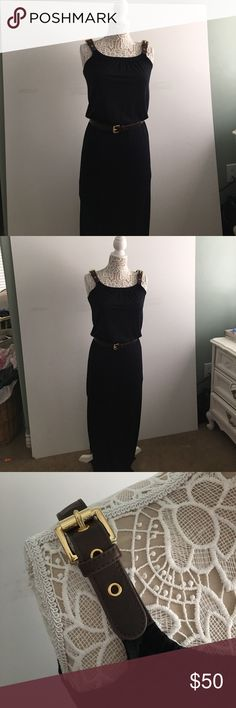 Michael Kors dress This a darling dress. In like new condition. It's been dry cleaned. Michael Kors Dresses Maxi
