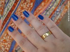 Esmalte Azul Hortência - Risqué