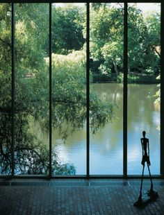 Louisiana Museum of Modern Art | Humlebæk, Denmark | Danish Architects Vilhelm Wohlert and Jørgen Bo |1958 #gardendesign #architecture