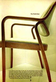 Knoll Don Petitt Designed Chair (1966)