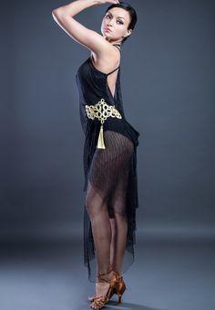 Santoria Ginny Latin Dress DR7077   Dancesport Fashion @ DanceShopper.com