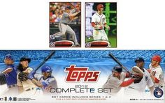 2012 Topps Baseball Exclusive 666 Card Factory Sealed Factory Retail Set with Two(2) Bryce Harper Variation ROOKIE Cards. Plus Two(2) Rookies of Yu Darvish,Cespedes+More. Includes all 660 Cards from Series 1 and Series 2 Plus Including all your Favorite MLB Stars including Mantle,Jeter, Pujols, Chipper, Posey,Strasburg,Ichiro and Many More. Makes a Great Gift ! by Topps. $69.99. Wowzzer!!  Check out this Awesome Factory Set with TWO(2) Bryce Harper Variation Rookies!!  ...
