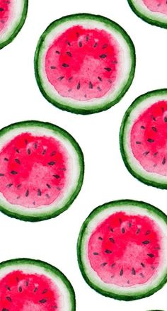 iPhone Wallpaper watermelon Happy Tumblr, Watercolor Fruit, Color Patterns, Royalty Free Images, Texture, Illustration, Water Colors, Watermelon, Hello Kitty