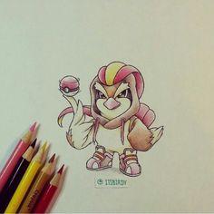 Pokémon in their evolutions' onesies. Source: @Tyler Smith on Instagram