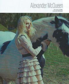Lily Donaldson for ELLE August 2015