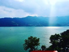 Somewhere in between #heaven and #earth lovely view of #pokhara #event #eventfreelancer #eventplanner #freelancer