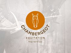 Ride with Chambergeot Equitation - Mozaik Journal Brand Management, Modern Logo, Horse Riding, Brand Identity, Branding Design, Design Inspiration, Lettering, Blog, Crafting