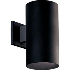 Exterior lighting for garage - Progress Lighting 1- Black Light Wall Lantern-P5641-31 - The Home Depot