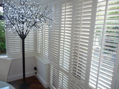 Best thing I ever done to my house Conservatory Curtains, Conservatory Interiors, Conservatory Ideas, Patio Windows, Nautical Interior, Window Shutters, Sunrooms, Fashion Room, Bungalow